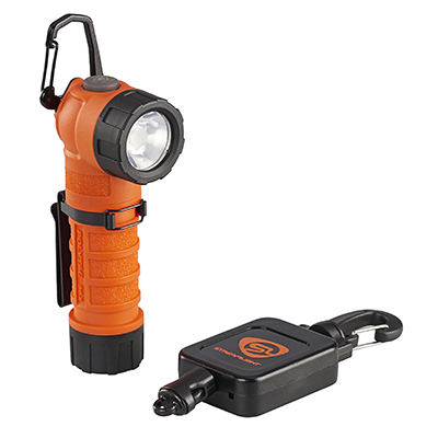 Streamlight Polytac 90 X USB, Feuerwehrlampe, orange